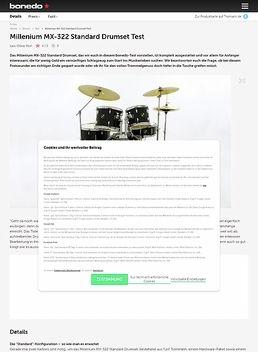 Millenium MX-322 Standard Drumset