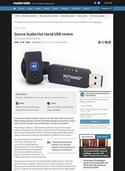 Source Audio Hot Hand USB