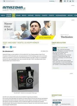 Test: AKG K267 TIËSTO, DJ-Kopfhörer