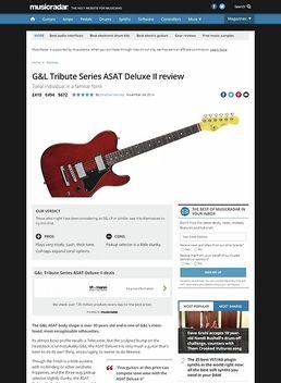 Asat Deluxe II Black Ice LTD