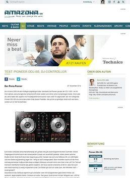Test: Pioneer DDJ-SB, DJ-Controller