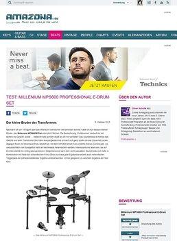 Test: Millenium MPS600 Professional E-Drum Set