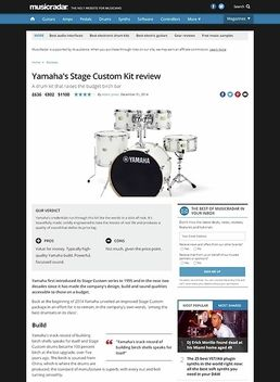 Yamaha's Stage Custom Kit