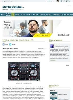 Test: Numark NV, DJ-Controller