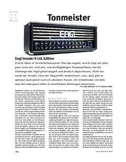 Engl Invader II Ltd. Edition, Tube-Head