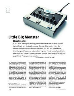 BluGuitar Amp1, Kompakt-Amp