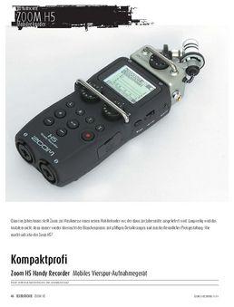 Zoom H5 Handy Recorder - Mobiles Vierspur-Aufnahmegerät