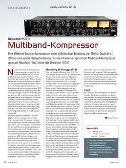Drawmer 1973 Multiband-Kompressor