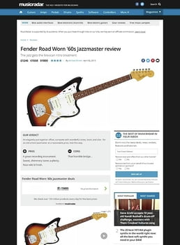 Road Worn 60s Jazzmaster 3TS