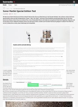 Martini Set Turquoise Sparkle