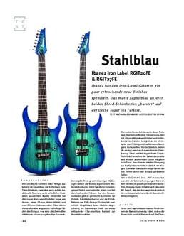 Ibanez Iron Label RGIT20FE & RGIT27FE, E-Gitarren