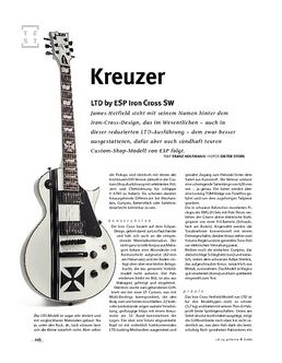 LTD by ESP Iron Cross SW, E-Gitarre
