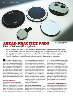 """AHSHP 14"""" Practice Pad Snare"""