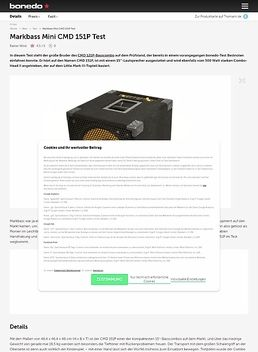 Mini CMD 151P LM3
