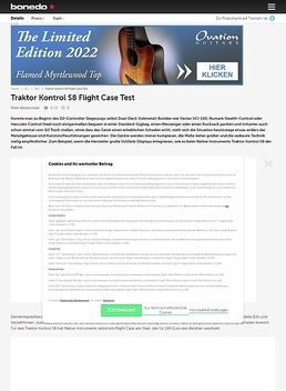 Traktor Kontrol S8 Hard Case