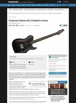 Chapman Guitars ML-3 Modern