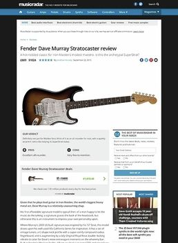 Dave Murray Strat 2TSB