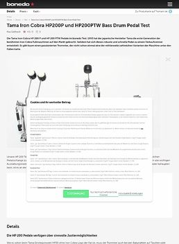 Iron Cobra HP200PTW Dbl. Pedal