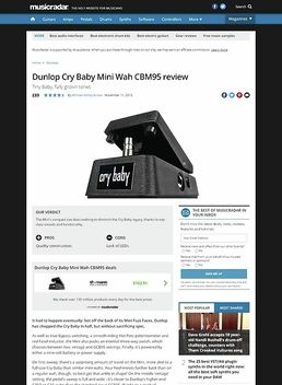 CBM95 CryBaby Mini Wah