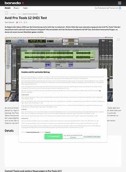 Avid Pro Tools 12 (HD)