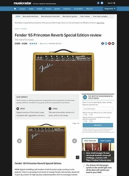 65 Princeton Reverb LAC Tweed