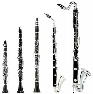 Types Of Yamaha Clarinets