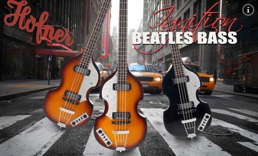 H�fner Ignition Beatles Bass