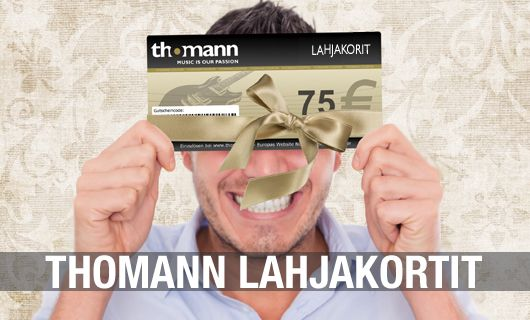 Thomann Lahjakortit