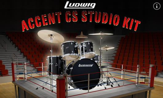 Ludwig LC Accent CS Drum Kit