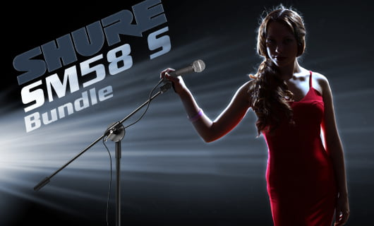 Shure SM58 S Bundle