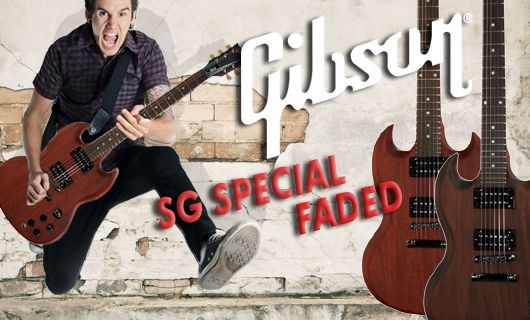 Gibson SG Studio Faded NEU