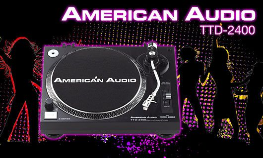 American Audio TTD 2400