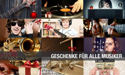Geschenke f�r Musiker Deutsch