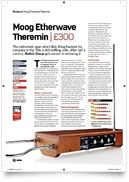 Etherwave Theremin Cherry