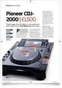 Cover Pro Pioneer CDJ 2000