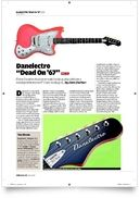 Dead On 67 Guitar BK