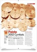 2002 08 Accent Cymbal Pair