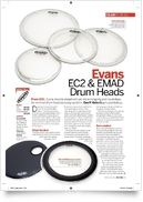 22 EMAD2 Clear Bass Drum
