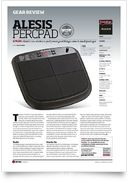 PercPad Percussion Pad