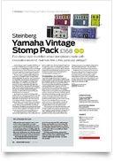 Yamaha Vintage Stomp Pack