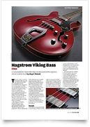 Viking Semi-Acoustic Bass WH