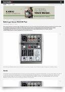 Xenyx 302 USB