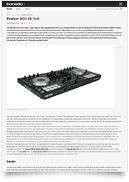 Case for Pioneer DDJ-SX