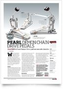P-3002D Demon Double Pedal