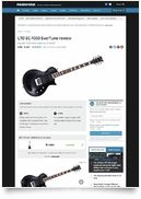 LTD EC-1000 ET Evertune BLK