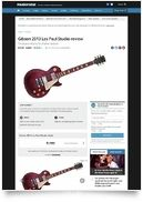 Les Paul Studio 2013 A B-Stock