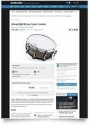 14x06 Snare Bell Brass