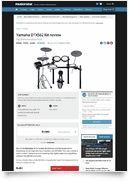 DTX562K Compact E-Drum Set