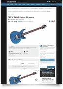 SE Floyd Custom 24 EG LTD