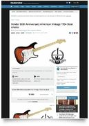 60th Anni AM Vint 1954 Strat